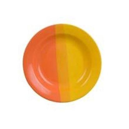 talíř hluboký oranž/žl