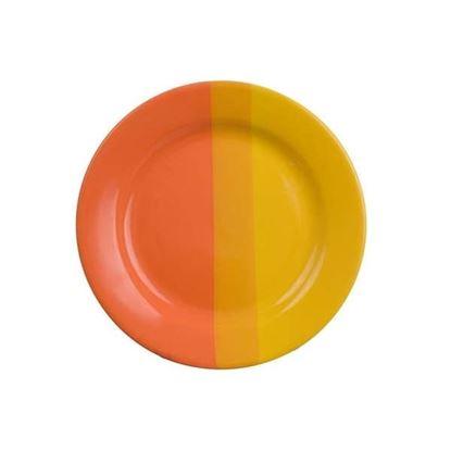 talíř desert oranž/hl