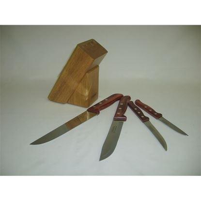 nůž sada 5ks-špalek
