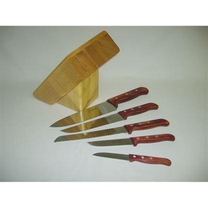 nůž sada 6ks-špalek
