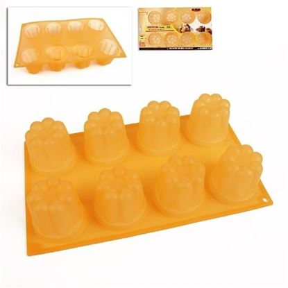 silikon forma mini Muffiny 8ks