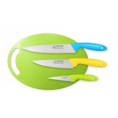 nůž sada+prkénko 4ks