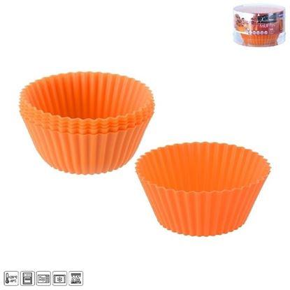 silikon muffinky set 6ks