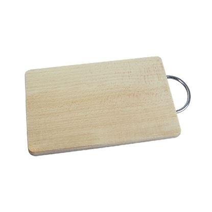 prkénko dřevo/kov 14,5x23,5cm