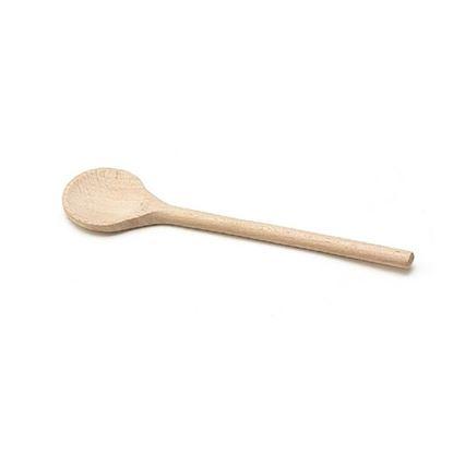 vařečka dřevo kulatá 25cm