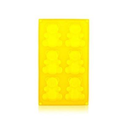 silikon forma méďové 6ks 31x18cm