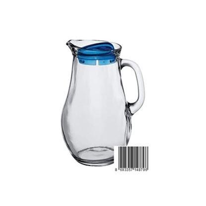 džbán sklo+víko 1,85L