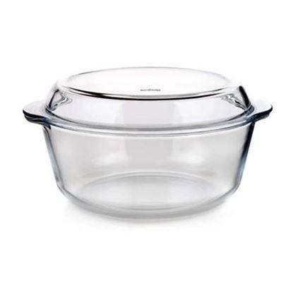 pekáč sklo kulatý 3L