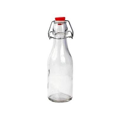 láhev sklo na olej ocet 21cm