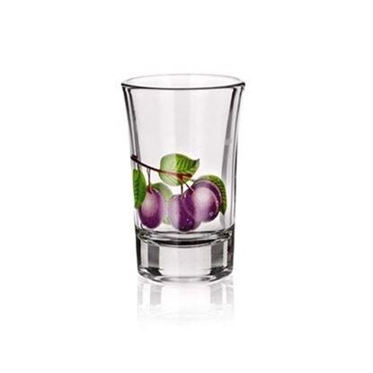 odlivka sklo 0,4L Švestka