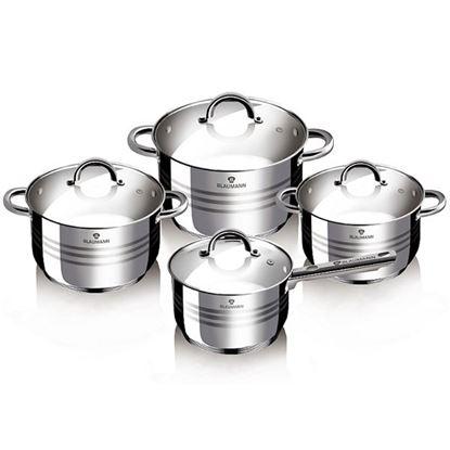 sada nádobí nerez 8ks Jumbo Gourmet