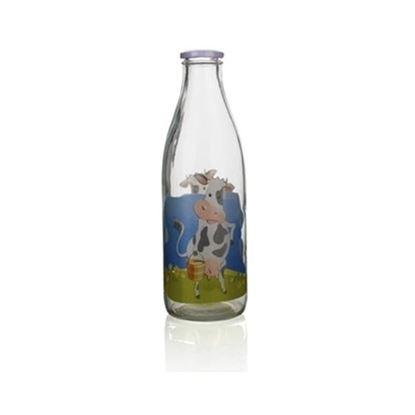 láhev sklo na mléko 1L