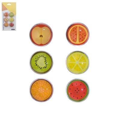 magnet sklo 6ks Ovoce