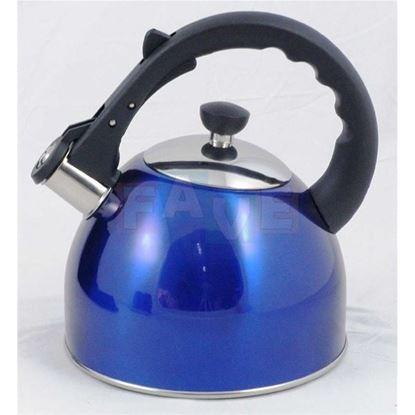 konvice čajová nerez 2,5L PAROT modrá