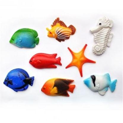 magnet rybky 8 ks