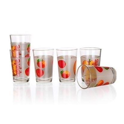 sklenice sada APPLE 230ml  6ks