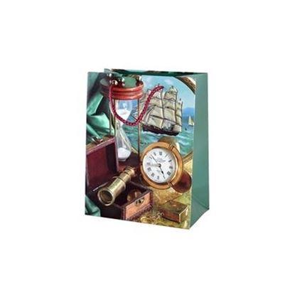 taška dárková 23x18 Námořní motiv