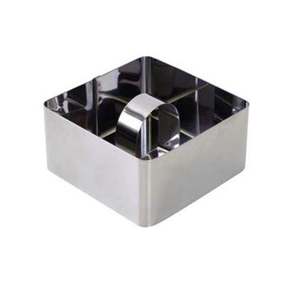 forma na dortík čtvercová 8x8x4cm