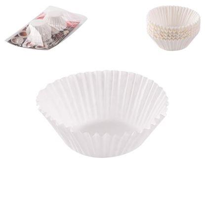 košíčky papír 5cm/100ks bílé