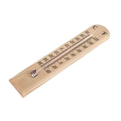 teploměr dřevěný