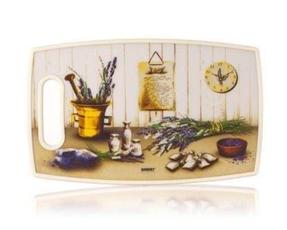Obrázek prkénko krájecí plast 36x22 Levandule Banquet