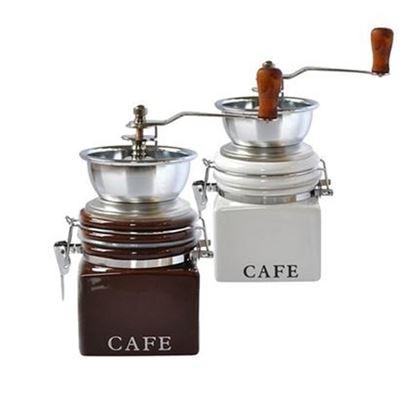 mlýnek na kávu porcelán