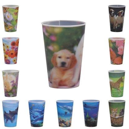 pohár UH 0,3L dekor 3D
