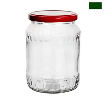 sklenice zavařovací+víčko 0,72L Facetta