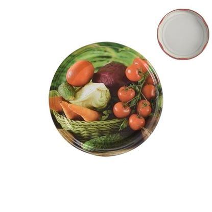 víčko kov BIO 66 Zelenina 10ks Orion