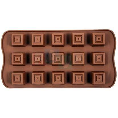silikon forma kostky na čokoládu, pralinky