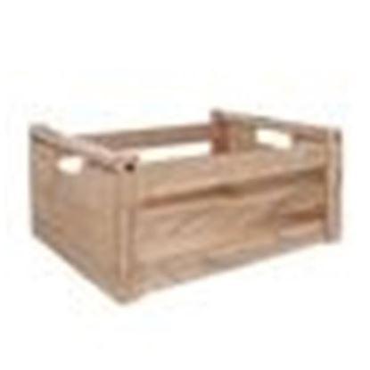 bedýnka dřevo natural 31x21x14 cm
