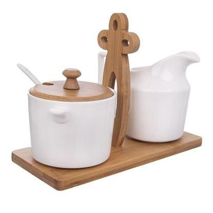 mlékovka a cukřenka porc.bambus