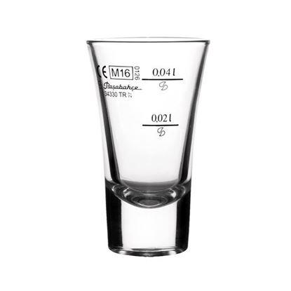 odlivka sklo BOSTON 0,06l cejch
