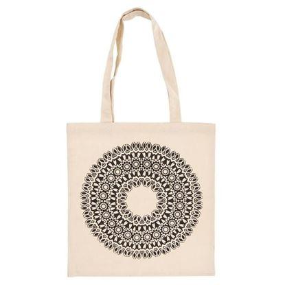 taška nákupní MANDALA bavlna
