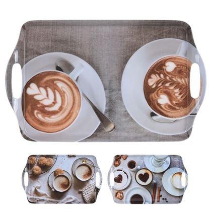 tác melamin COFFE 38x23cm