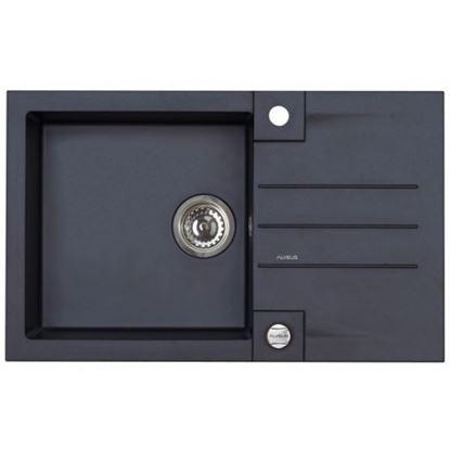 dřez granitový 780x480 cm s ovládáním