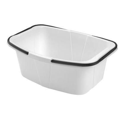 koš-vanička na čisté prádlo šedý