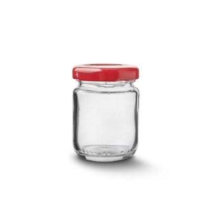 sklenice zavařovací+víčko 80 ml