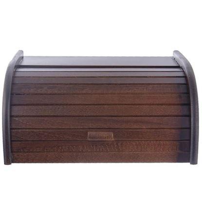 chlebovka dřevo tm.hnědá 38,5x29x18 cm